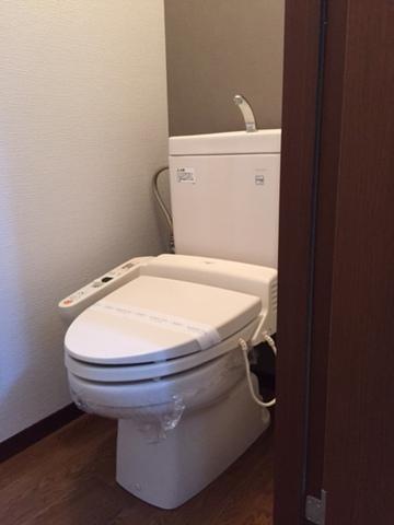 ぽかぽかのシャワートイレ。