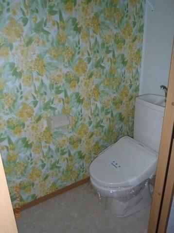 トイレはキレイにしましょう♪