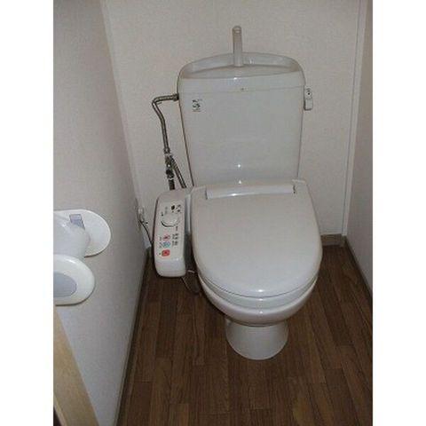 トイレはキレイにしましょうね♪